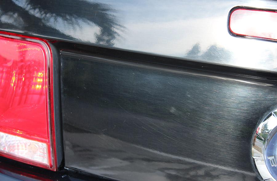 Typical carwash damage.