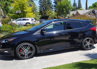 2017 Ford Focus Coated with Sapphire V1 Ceramic