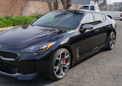 2018 KIA Stinger Coated with Sapphire V1 5-year Ceramic